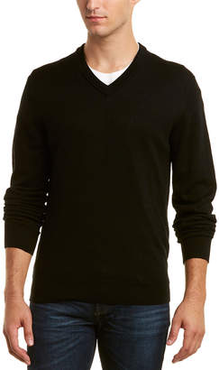 Qi Wool V-Neck Sweater