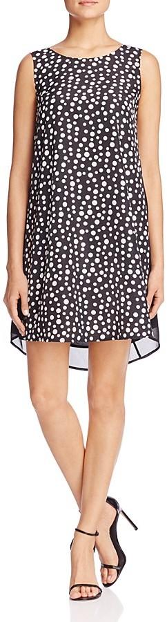 FINITY Polka Dot Swing Dress