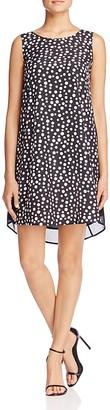 FINITY Polka Dot Swing Dress $170 thestylecure.com