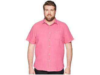 Tommy Bahama Big Tall Sea Glass Breezer Short Sleeve Shirt