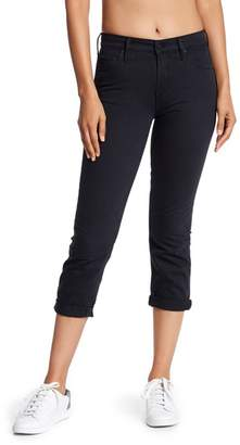 Mother The Dropout Cropped Slim Jeans