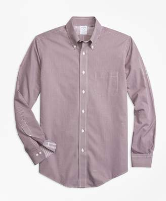 Brooks Brothers Non-Iron Regent Fit Micro-Gingham Sport Shirt