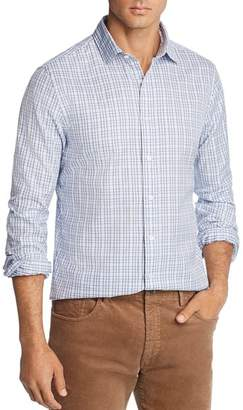 Bloomingdale's The Men's Store at Plaid Twill Slim Fit Shirt - 100% Exclusive