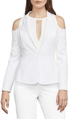 BCBGMAXAZRIA Women's Shasha Cold-Shoulder Blazer