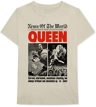 Bravado Queen Men's News Of The World Graphic T-Shirt
