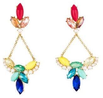 Lulu Frost Embellished Drop Earrings $95 thestylecure.com