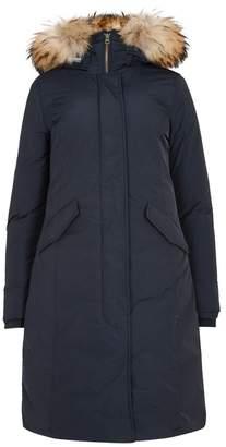 Woolrich Luxury Navy Fur