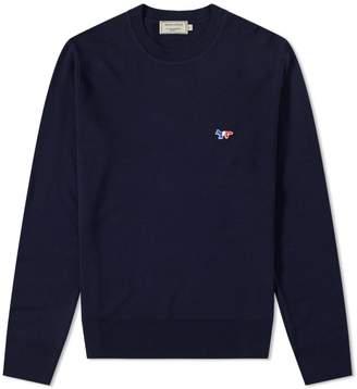 MAISON KITSUNÉ Virgin Wool Crew Knit