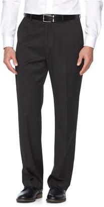 Croft & Barrow Big & Tall True Comfort Stretch Classic-Fit Flat-Front Suit Pants