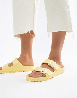 b30036ff2d20 Birkenstock Arizona Eva Yellow Flat Sandals