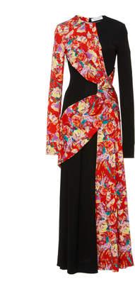 Prabal Gurung Lugu Floral Sash Dress