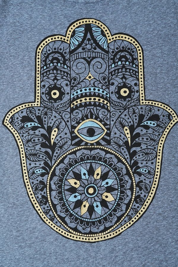 Truly Madly Deeply Hamsa Open-Back Tee