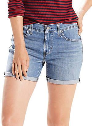 Levi's North Side Mid-Rise Denim Shorts