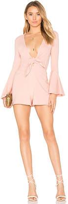 House of Harlow 1960 x REVOLVE Lennox Romper in Pink $168 thestylecure.com