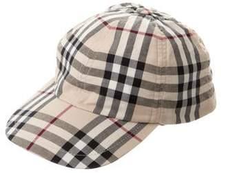 Burberry Nova Check Baseball Cap