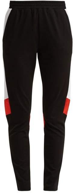 KOCHÉ Side-stripe tapered-leg track pants