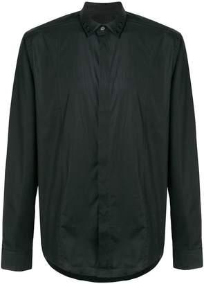 Les Hommes collar detail shirt