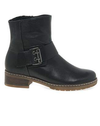 817cee243b64 Gabor Dakota Womens Biker Ankle Boots