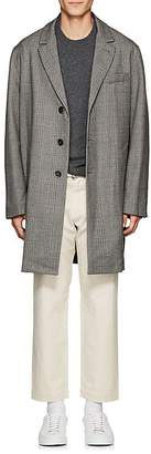 Barena Venezia Men's Plaid Wool Topcoat