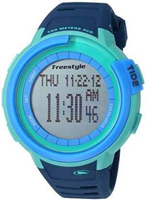 Freestyle (フリースタイル) - フリースタイルユニセックス10022918 Mariner Tide Digital Display Japanese Quartz Blue Watch