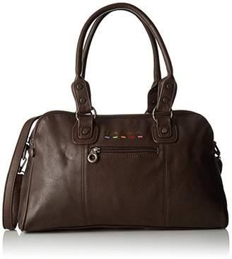 Little Marcel Id01, Women's Bowling Bag, Marron (), 14x23x39 cm (W x H L)