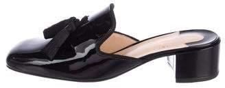 Christian Louboutin Patent Leather Tassel Mules