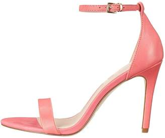 Nansay Women's Shoes Big Size High Heel Ladies Shoes Customize Cover Heel Sandals Buckle Strap Pumps Patent US
