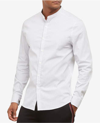 Kenneth Cole New York Kenneth Cole. Band Collar Shirt