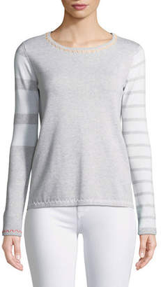 Lisa Todd Just My Stripe Sweater, Plus Size