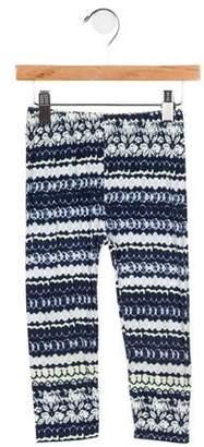 Imoga Girls' Printed Knit Leggings