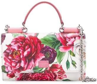 Dolce & Gabbana peonie printed mini bag