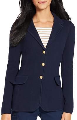 Lauren Ralph Lauren Knitted Blazer $165 thestylecure.com