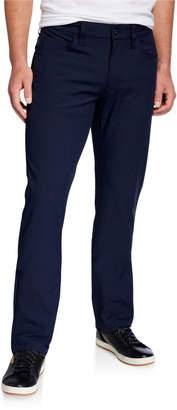 Emporio Armani Men's Techno-Stretch Straight-Leg Pants
