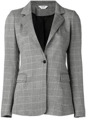 Liu Jo plaid fitted blazer