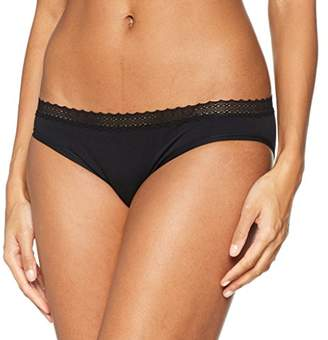 Billet Doux Women's Zen Dentelle Slip Panties, Black (Noir) (Size: 42/16)
