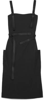 Tomas Maier Cotton-poplin Dress - Black