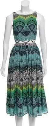 Mara Hoffman Sleeveless Printed Mini Dress
