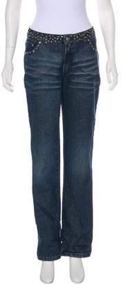 Blumarine Jewel Embellished Jeans