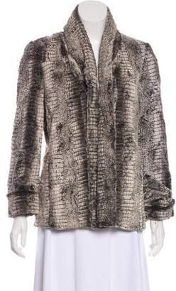 Alice + Olivia Trimmed Long Sleeve Jacket