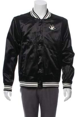 Scotch & Soda Felix the Cat Embroidered Graphic Bomber Jacket