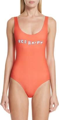 Ganni Profilic One-Piece Swimsuit