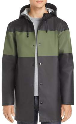 Stutterheim Stockholm Color-Block Rain Coat - 100% Exclusive