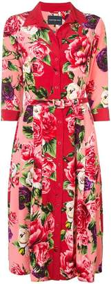 Samantha Sung Audrey Peony shirt dress