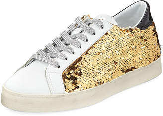 D.A.T.E Hill Low Paillettes Sneakers