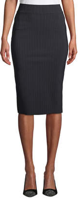 Chiara Boni Lumi Pinstripe Pencil Skirt