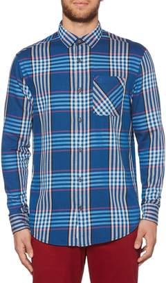 Original Penguin Plaid Flannel Sport Shirt
