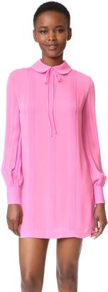 McQ - Alexander McQueen Pintuck Shirtdress $530 thestylecure.com