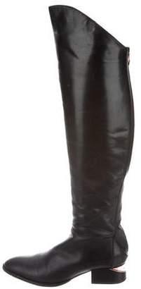 Alexander Wang Leather Knee-High Boots