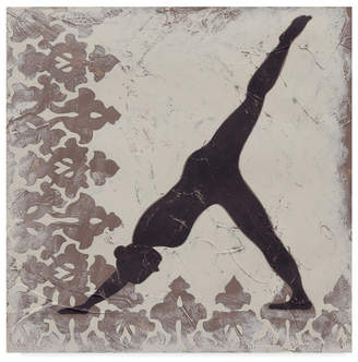 "Chariklia Zarris Yoga Bliss Iii Canvas Art - 15"" x 20"""