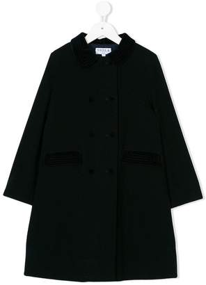 Siola A-line buttoned coat